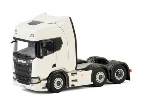 WSI White line Scania R730 Highline CR20H 6x2 Twin Steer